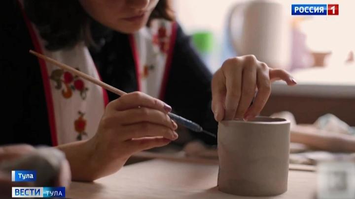 В тульском Центре керамики помогают особенным людям