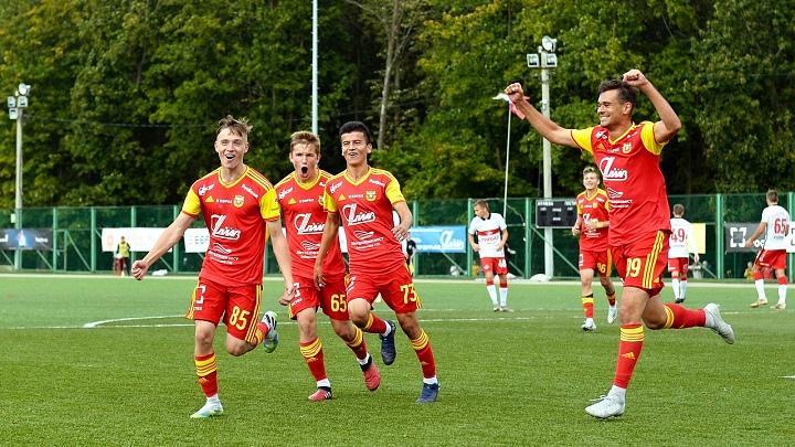 Молодёжка тульского «Арсенала» одержала трудную победу над сверстниками из «Спартака» со счётом 1:0