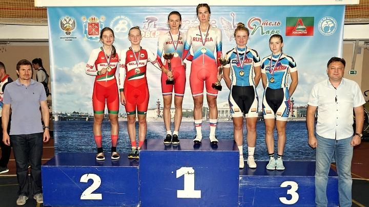 Тульские велогонщики завоевали пять медалей на финише «Гран-при Санкт-Петербурга»
