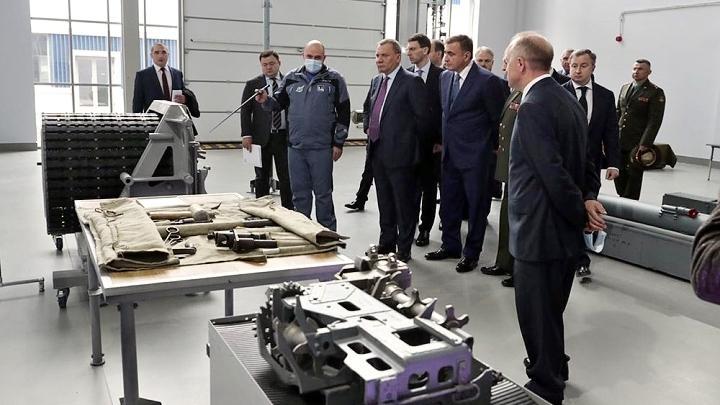 Ко Дню оружейника на АО «Щегловский вал» начал работу механообрабатывающий цех