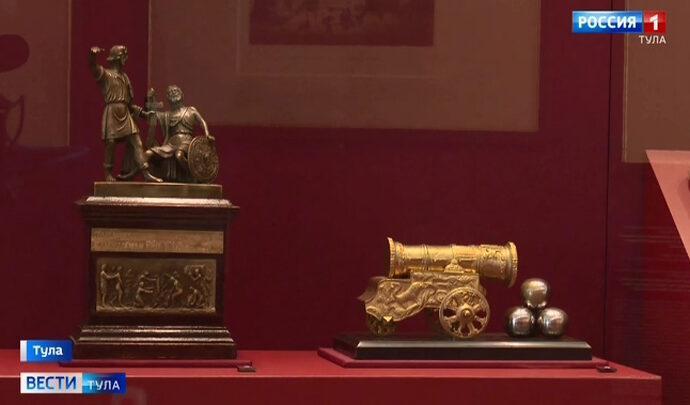 Выставка в филиале ГИМа в Туле откроется для посетителей 27 сентября