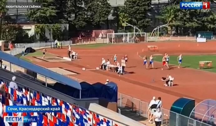 Тульский легкоатлет завоевал «бронзу» на соревнованиях в Сочи