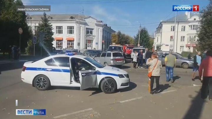Пять человек пострадали в ДТП с маршруткой в Новомосковске