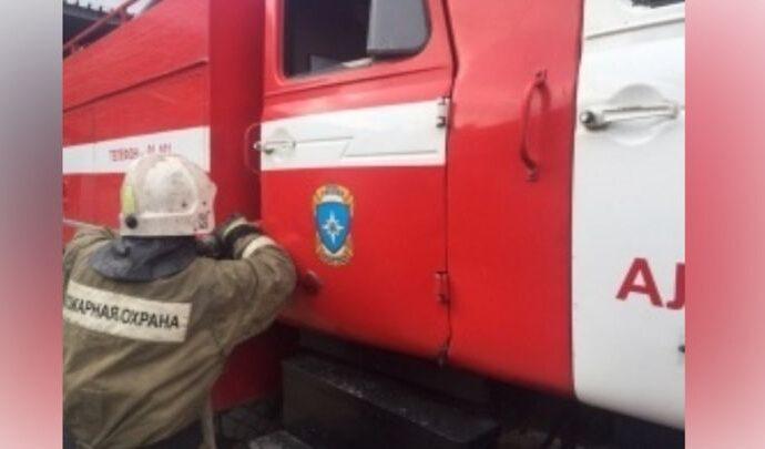 На Машзаводе в Туле произошел пожар