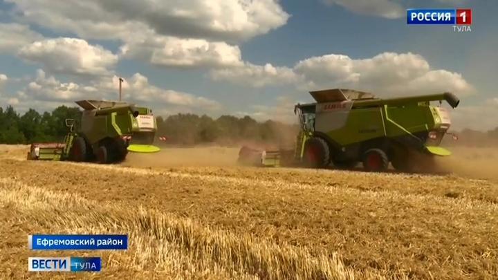 Корреспондент тульских «Вестей» узнал, как аграрии сохраняют урожай