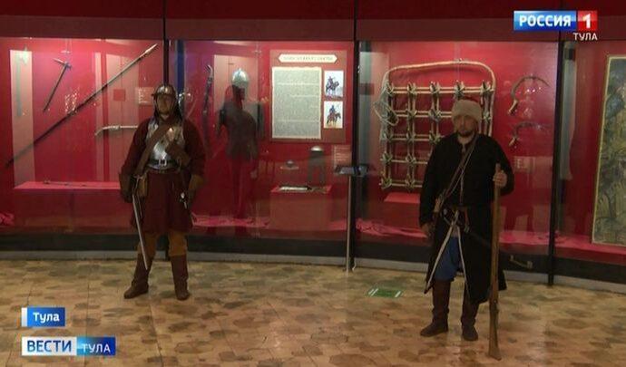 Гости Тульского музея оружия узнают всё про «Южный щит России»