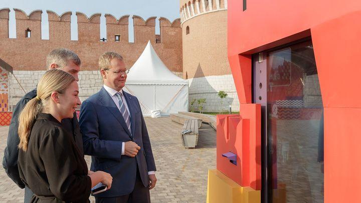 Онлайн-дверь на Казанской набережной откроют для улыбчивых