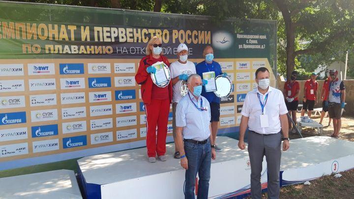 Тульские пловцы заняли второе место на чемпионате России