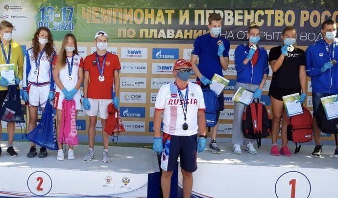 Тульские пловцы завоевали два «серебра» в эстафетах на чемпионате России