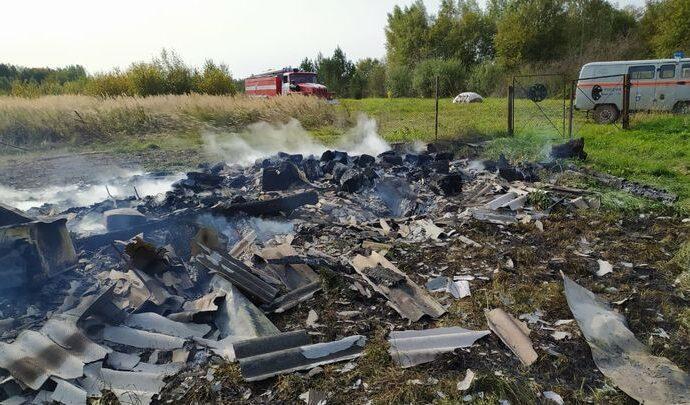 Житель деревни Сенцово погиб в огне