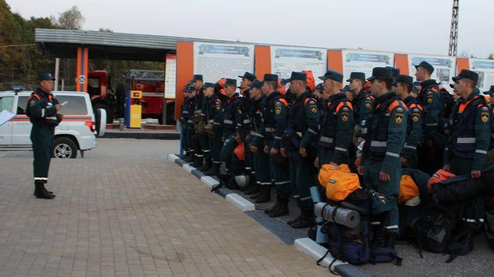 Тульские спасатели отправились тушить лесные пожары в Воронеж
