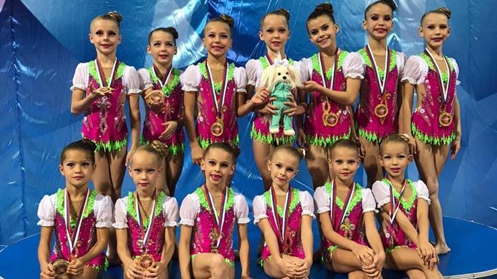 Гимнастки «Роксэта» завоевали 8 медалей в Раменском