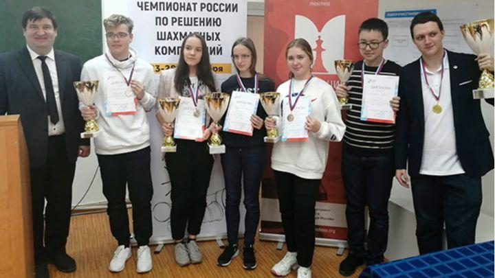 Тульские шахматисты завоевали три медали на чемпионате России