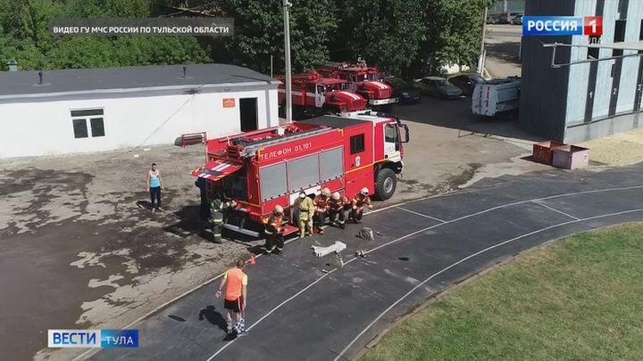 Тульские юные спасатели стали вторыми на соревнованиях команд ЦФО