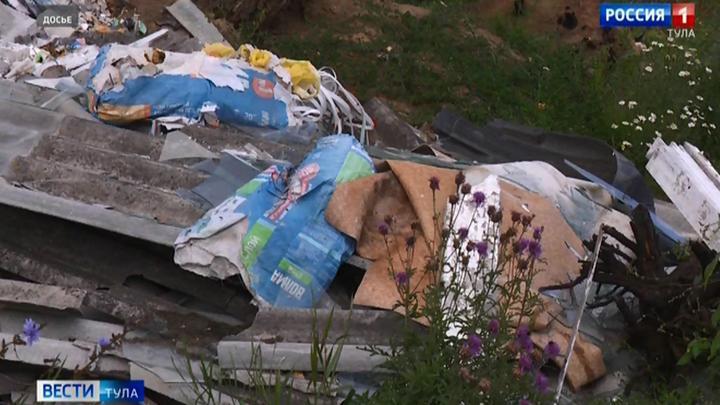 Россельхознадзор обнаружил в Чернском районе несанкционированные свалки