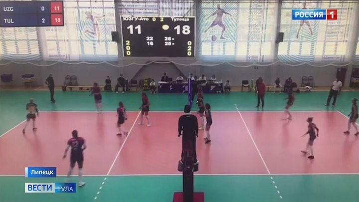 Волейболистки «Тулицы» одержали вторую победу подряд на предварительном этапе открытого Кубка России