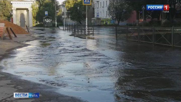15 тысяч ясногорцев больше чем на сутки остались без воды