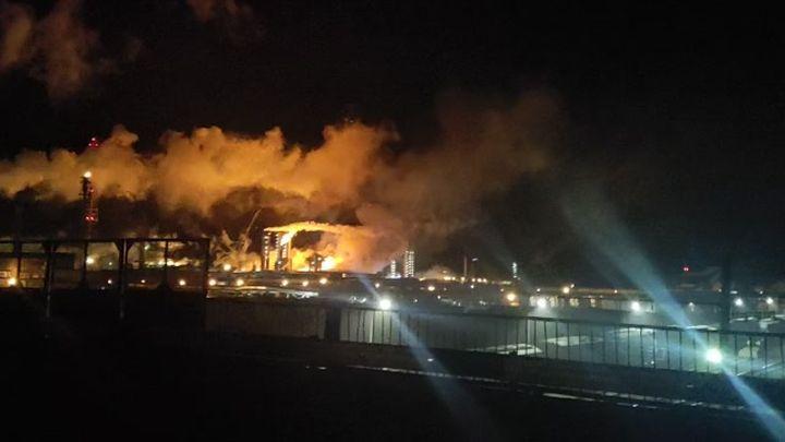 Пожар на новомосковском «Азоте» локализован