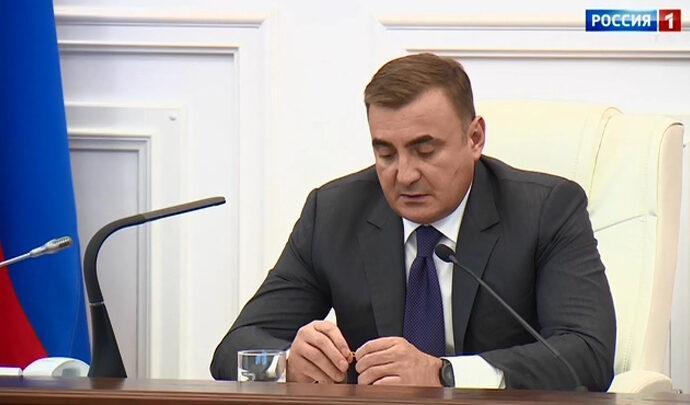 Алексей Дюмин: самое главное это здоровье жителей региона
