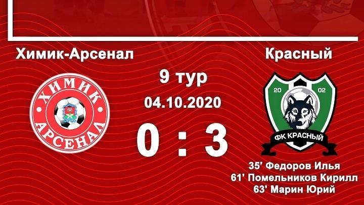 «Химик-Арсенал» – «Красный» – 0:3