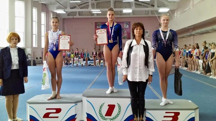 Тульские гимнастки завоевали пять медалей на «Мемориале Толкачёва»
