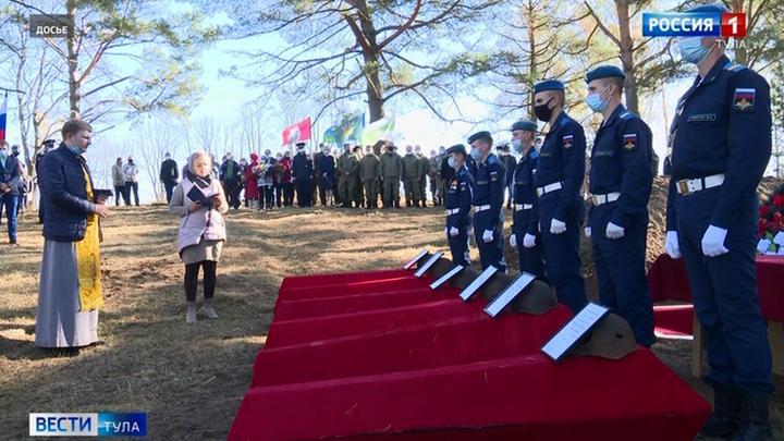 В Белевском районе появится новый мемориал в память о жертвах войны