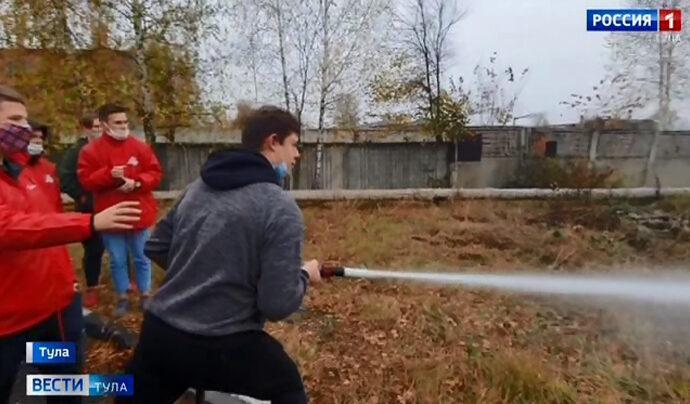 В Туле добровольцев ОНФ научат работать в зонах ЧС