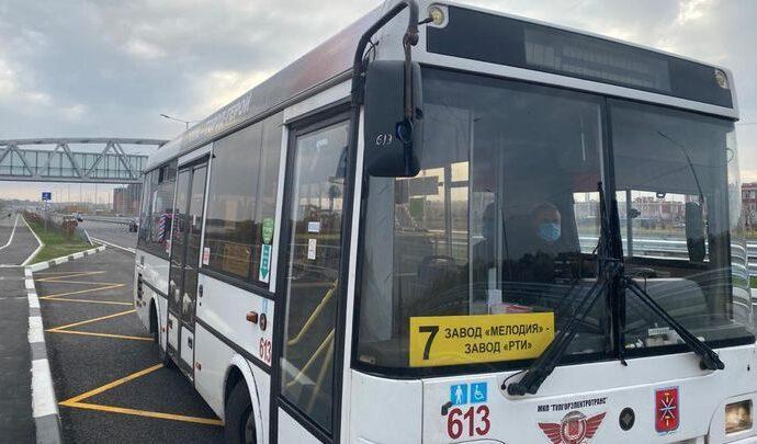 В Туле по Восточному обводу пустили ещё один автобусный маршрут