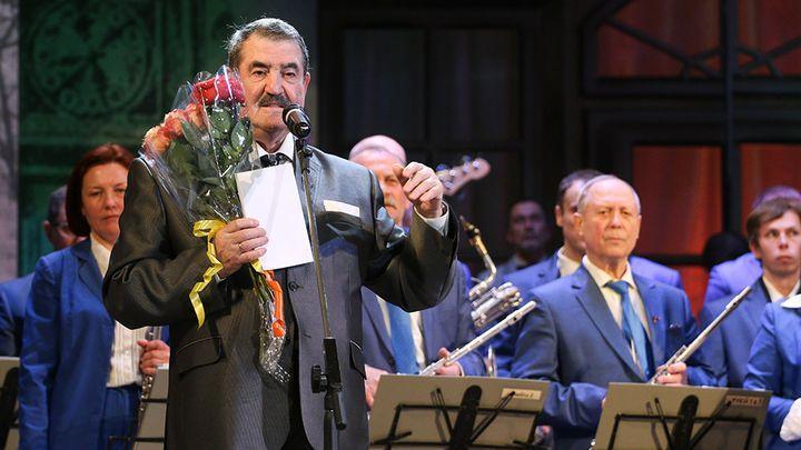 Худруку Губернаторского духового оркестра Полиславу Балину исполнилось 77 лет