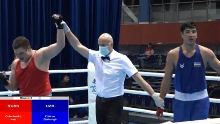 Тульский боксёр Иван Онищенко вышел в полуфинал международного турнира