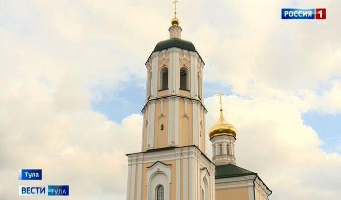 Праздничное богослужение прошло в храме, недавно освящённом в честь Покрова