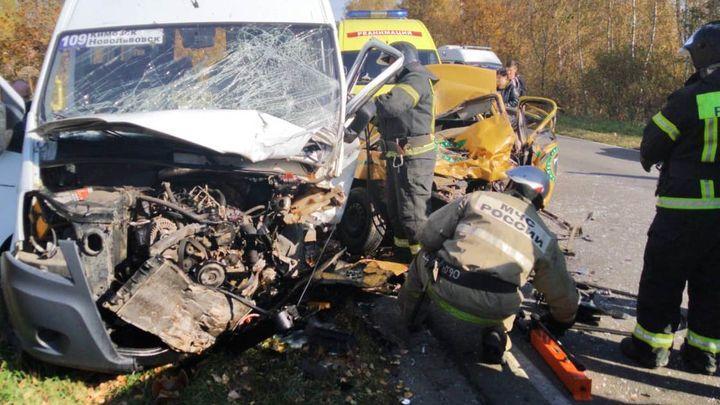 ДТП с участием маршрутки унесло жизни трёх человек