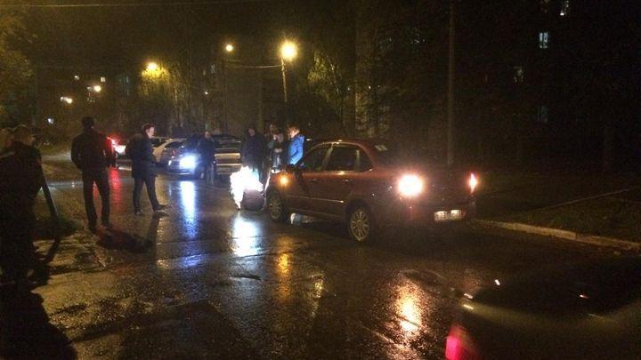 В Тульской области два пешехода оказались в больницах после ДТП