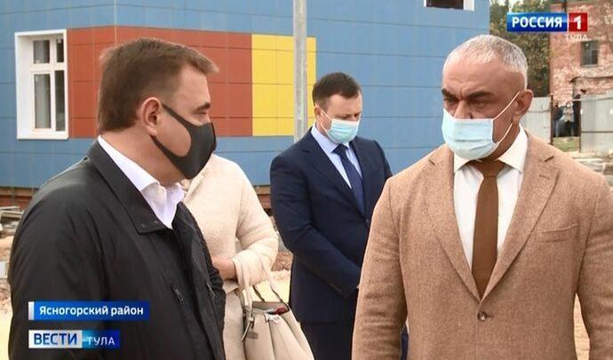 Алексей Дюмин изучил болевые точки Ясногорска