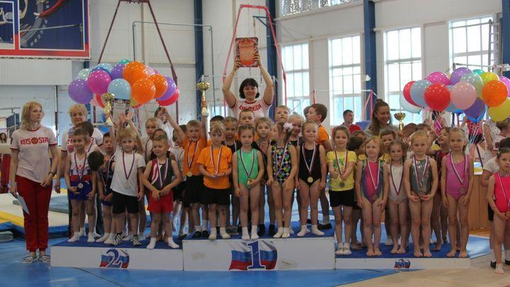 В Туле состоится фестиваль спортивной гимнастики «Малышок»
