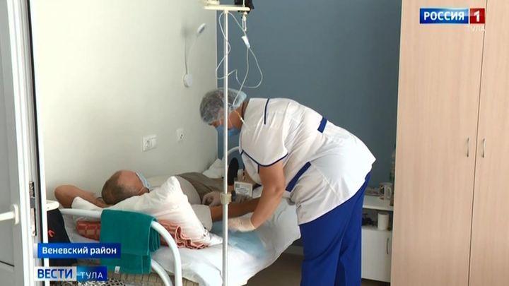 В грицовском ветеранском госпитале теперь и стены лечат