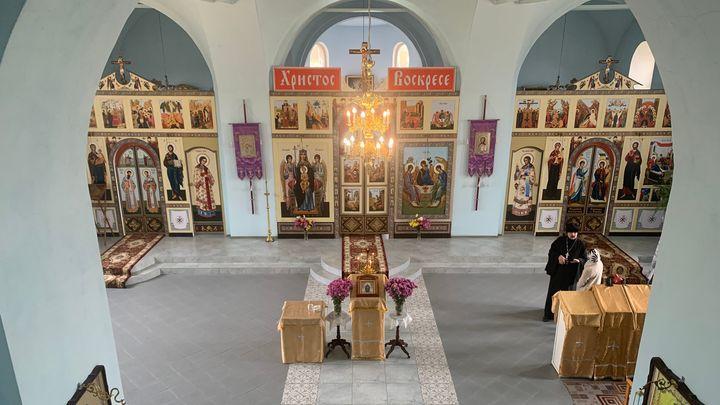 В Ефремовском районе после реставрации открылся древний храм