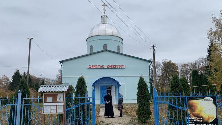В Ефремовском районе восстановили Свято-Успенский храм