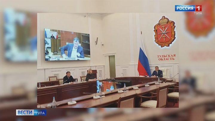 Алексей Дюмин принял участие в заседании президиума Правительственной комиссии