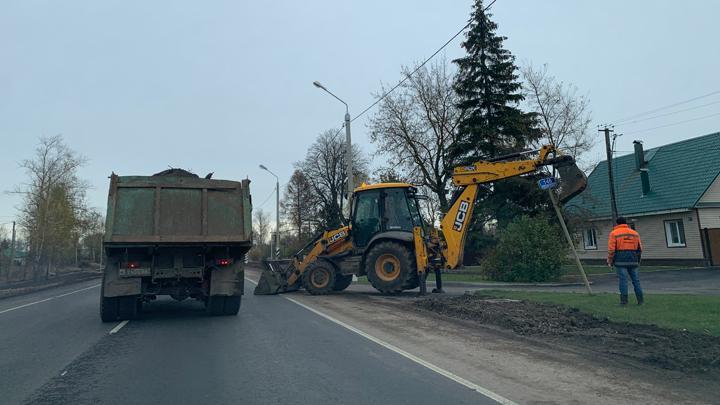 В Тульской области завершается ремонт трассы «Калуга – Рязань»