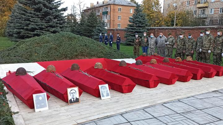 92 красноармейца нашли покой в Туле