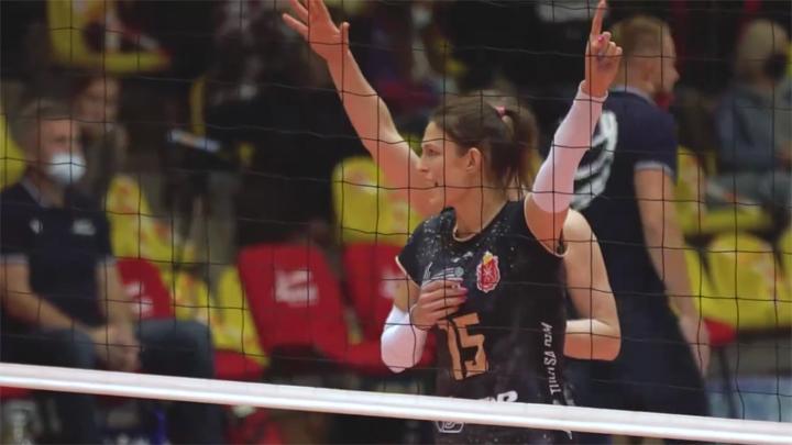 Волейболистки «Тулицы» набрали первое очко