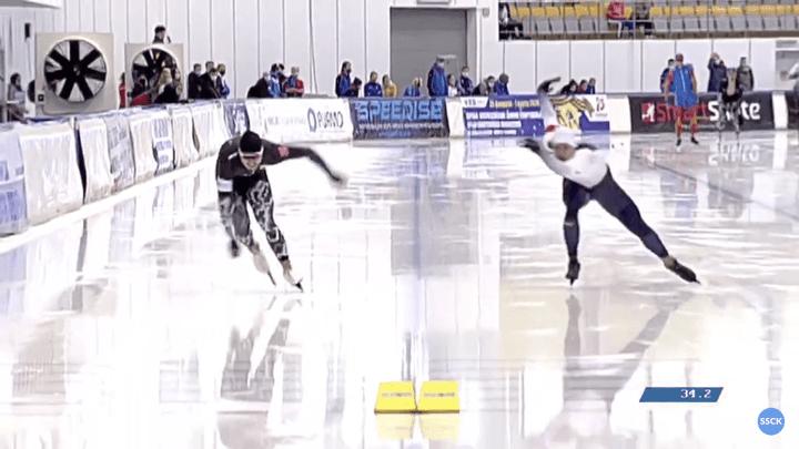 Тульский конькобежец Артём Золотарёв – девятый на чемпионате России