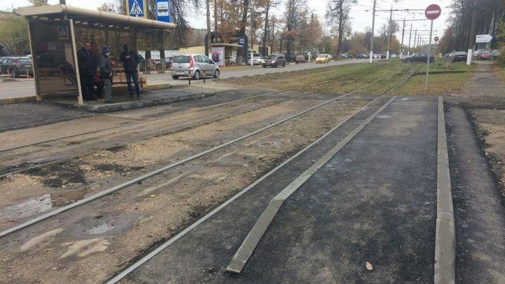 В Туле благоустроили остановочный пункт «Комбайновый завод»