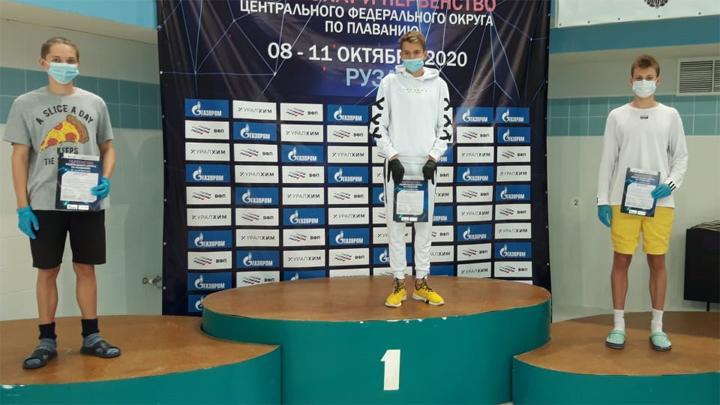 Тульские пловцы завоевали восемь медалей на чемпионате ЦФО