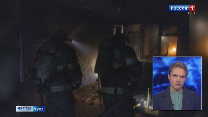 При пожаре в Карамышеве спасено четыре человека