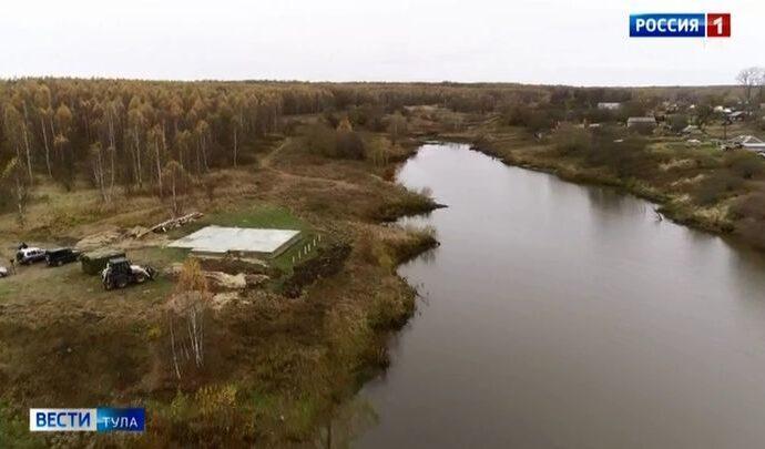 Жители венёвской деревни встали на защиту неизвестного водного объекта