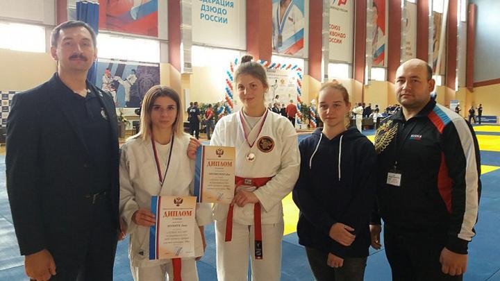 Тульские рукопашники взяли три медали на Кубке России