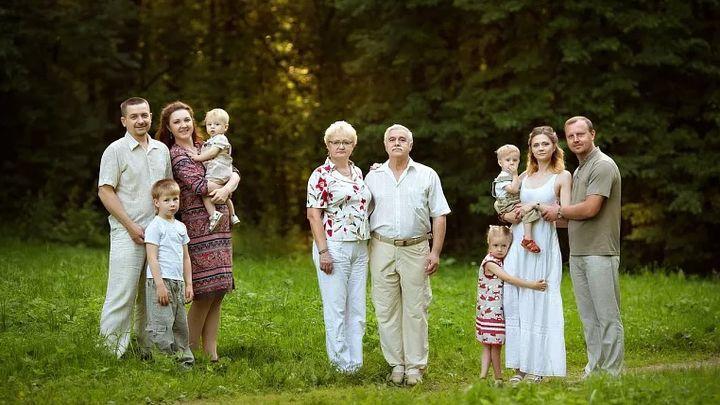 Выбраны самые фотогеничные семьи Тульской области