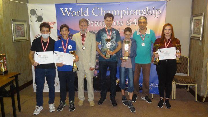 Тульские шашисты стали победителями командного чемпионата мира